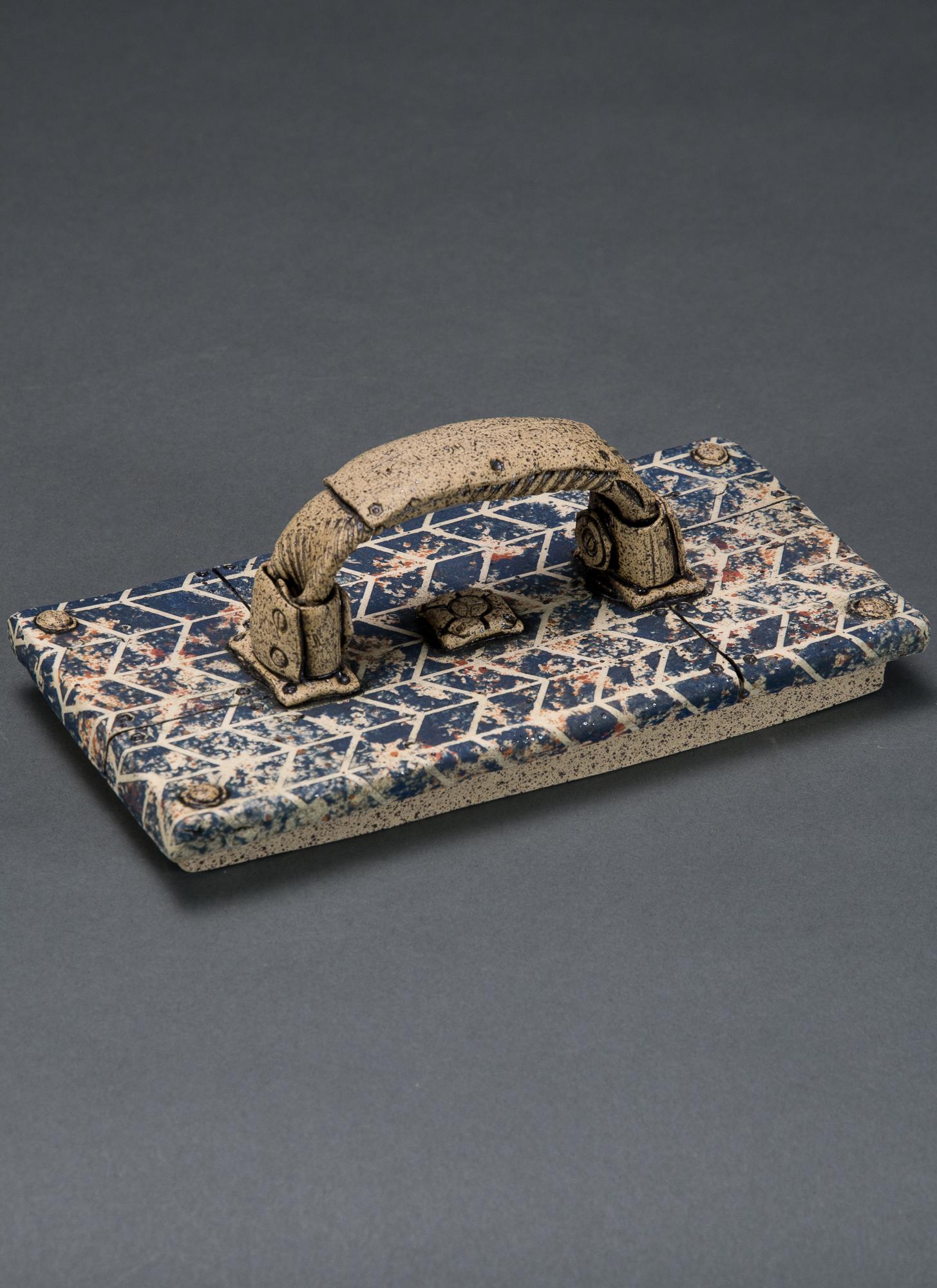 virginia pottery hand building ceramics clay steampunk animals underglaze transfer